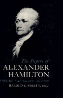 The Papers of Alexander Hamilton