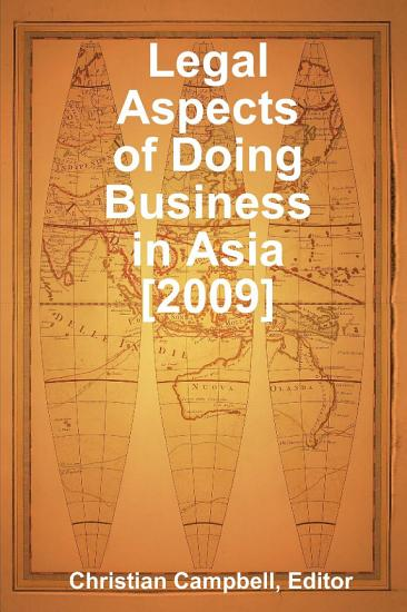 Legal Aspects of Doing Business in Asia and the Pacific PDF