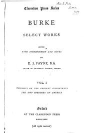 Burke: Select Works