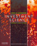 Investment Science PDF