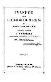 Ivanhoe: ossia il ritorno del crociato