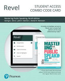 Revel for Mastering Public Speaking    Combo Access Card PDF