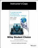Fundamentals of Machine Component Design  6e Evaluation Copy