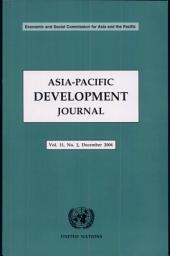 Asia-Pacific Development Journal: Volume 11, Issue 2