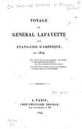 Voyage du Général Lafayette aux Etats-Unis d'Amérique en 1824