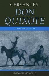 Don Quixote: A Reference Guide