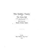 The Golden vanity, and The green bed: words and music of two old English ballads, with pictures