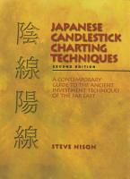 Japanese Candlestick Charting Techniques PDF