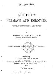 Goethe's Hermann and Dorothea, with notes by W. Wagner