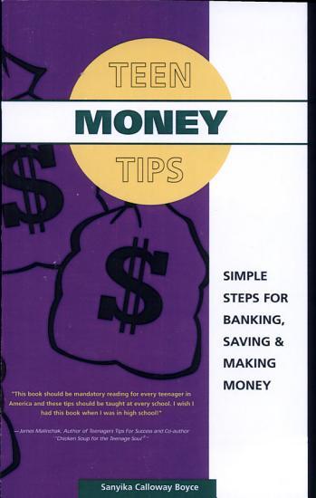 Teen Money Tips Simple Steps For Banking  Saving   Making Money PDF