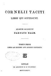 Cornelii Taciti Libri qui supersunt: Volume 2