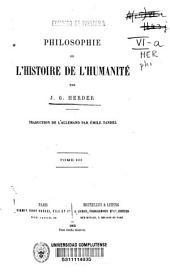 Philosophie de l'histoire de l'humanité: Volume3