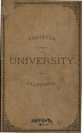Register of the University of California