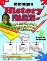 Michigan History Projects PDF