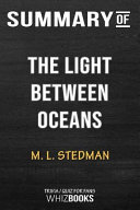 Summary of the Light Between Oceans  A Novel  Trivia Quiz for Fans PDF