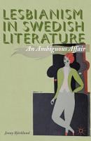 Lesbianism in Swedish Literature PDF