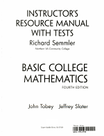 Instructors Resource Manual with Tests