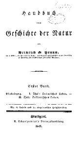 Handbuch einer geschichte der natur: Band 1
