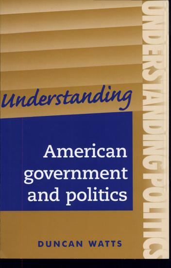 Understanding American government and politics PDF