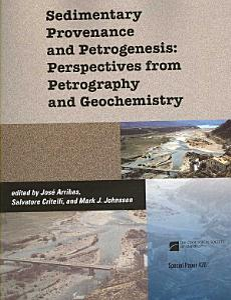 Sedimentary Provenance and Petrogenesis Book