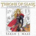 The Throne of Glass Coloring Book Book