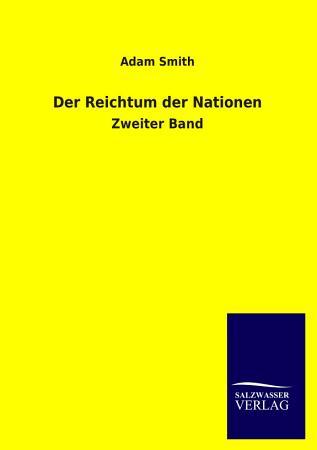 Der Reichtum Der Nationen PDF