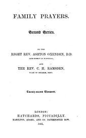 Family prayers. 2nd ser., by A. Oxenden and C.H. Ramsden