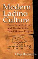 Modern Ladino Culture PDF