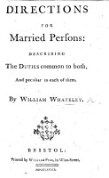A Bride Bush  or  a direction for married persons  plainly describing the duties common to both  and peculiar to each of them  etc PDF