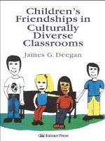 Children s Friendships in Culturally Diverse Classrooms PDF