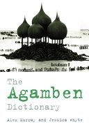 Agamben Dictionary