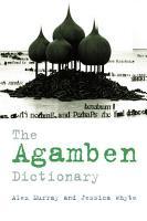 Agamben Dictionary PDF