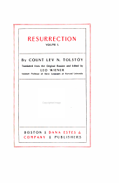 The Complete Works of Count Tolstoy: Volume 21