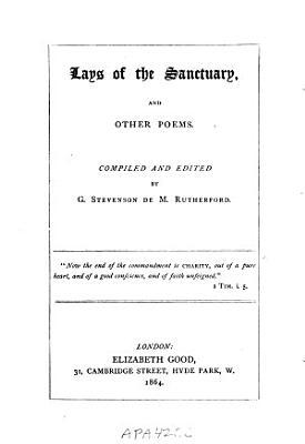 Lays of the Sanctuary PDF