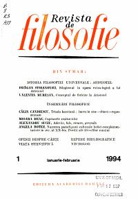 Revista de filosofie PDF
