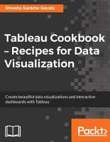 Tableau Cookbook     Recipes for Data Visualization PDF