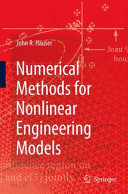 Numerical Methods for Nonlinear Engineering Models