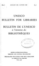 Download Unesco Bulletin for Libraries Book