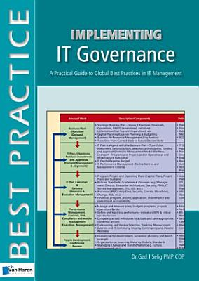 Implementing IT Governance   A Practical Guide to Global Best Practices in IT Management PDF