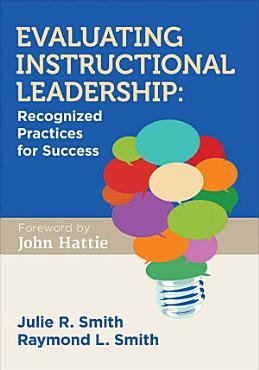 Evaluating Instructional Leadership PDF