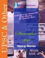 December 2018 Exams Exclusive PDF