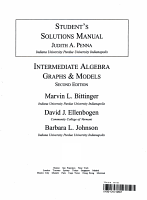 Students Solutions Manual PDF