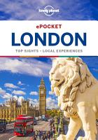 Lonely Planet Pocket London PDF