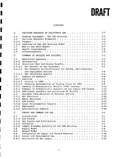 Decision Analysis of California LNG PDF