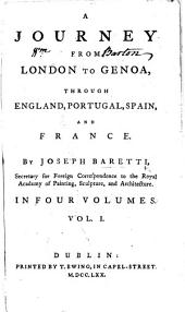 A Journey from London to Genoa, etc: Volume 1
