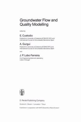 Groundwater Flow and Quality Modelling