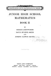 Junior High School Mathematics: Book 2