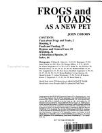 Frogs and Toads as a New Pet PDF