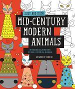 Just Add Color: Mid-Century Modern Animals