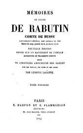 Mémoires de Roger de Rabutin, comte de Bussy: Volume1